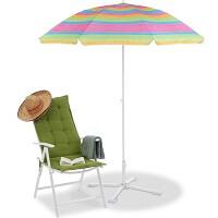 8. Relaxdays strandparasol gestreept